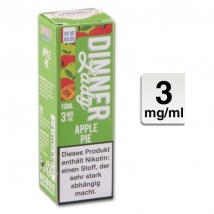 Dinner Lady Liquid Apple Pie 10ml 3mg