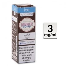 Dinner Lady Liquid Cola Ice 10ml 3mg