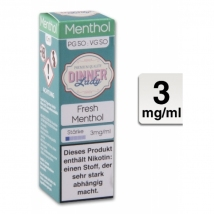 Dinner Lady Liquid Fresh Menthol 10ml 3mg