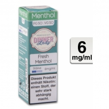 Dinner Lady Liquid Fresh Menthol 10ml 6mg