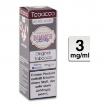 Dinner Lady Liquid Orginal Tobacco 10ml 3mg