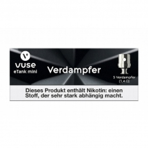 VUSE Clearomizercoil eTank Mini 5er