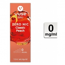 VUSE Liquid Bottle Classic Peach 0mg 10ml