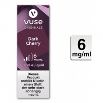VUSE Liquid Bottle Dark Cherry 6mg 10ml