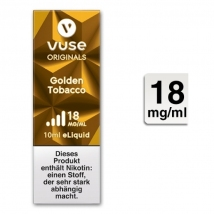VUSE Liquid Bottle Golden Tobacco 18mg 10ml