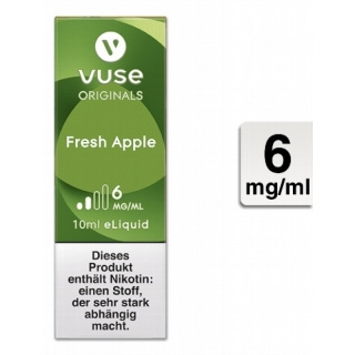 VUSE Liquid Bottle Fresh Apple 6mg 10ml