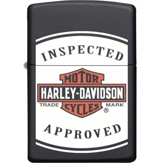 Zippo Harley Davidson Inspected Approved 60005591