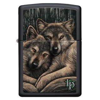 Zippo Lisa Parker 2 Wolfes Snuggling 60004494